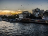 Sunset on Karakoy, fish market