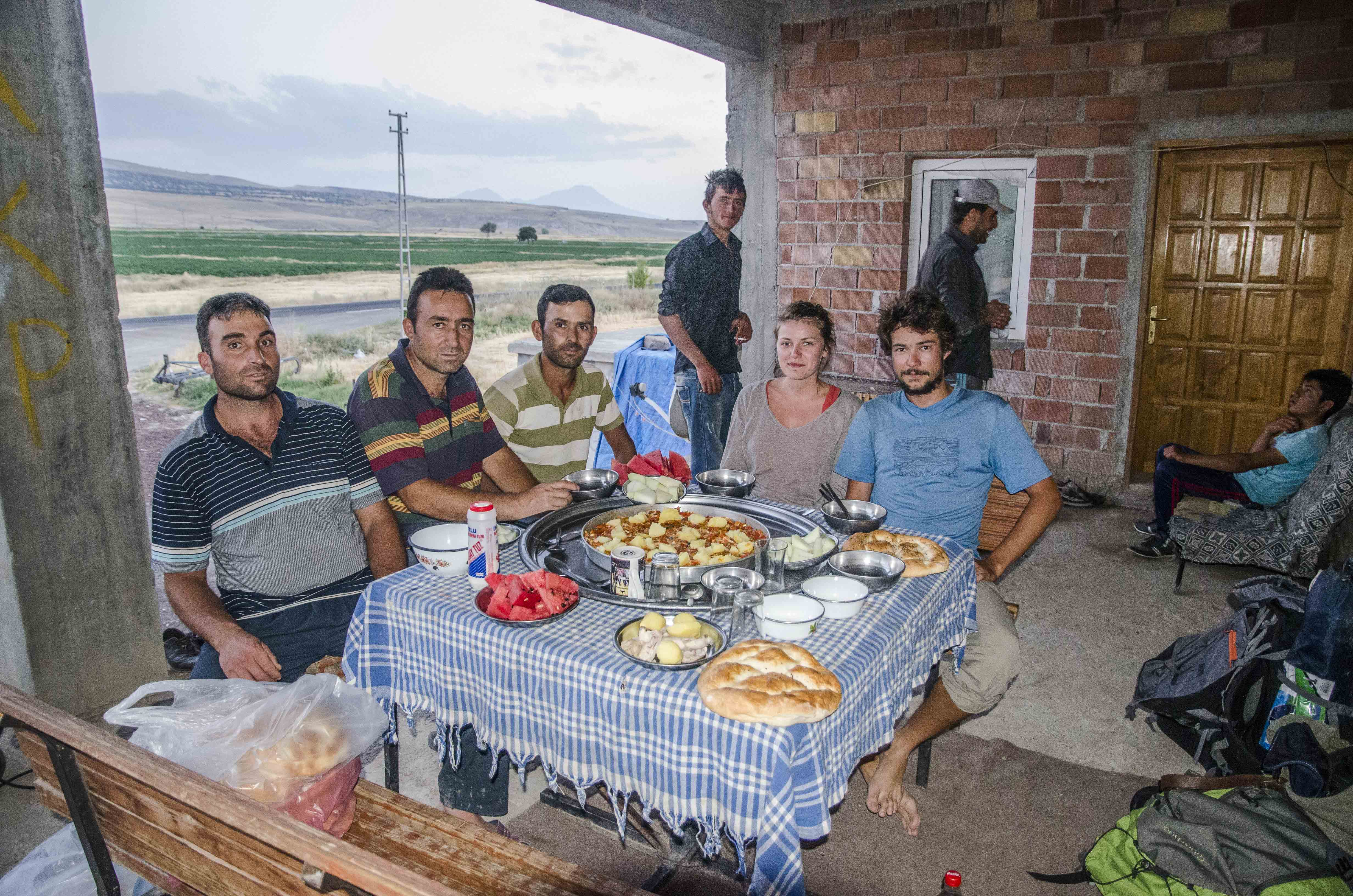 Iftar n°1 with the farmers!
