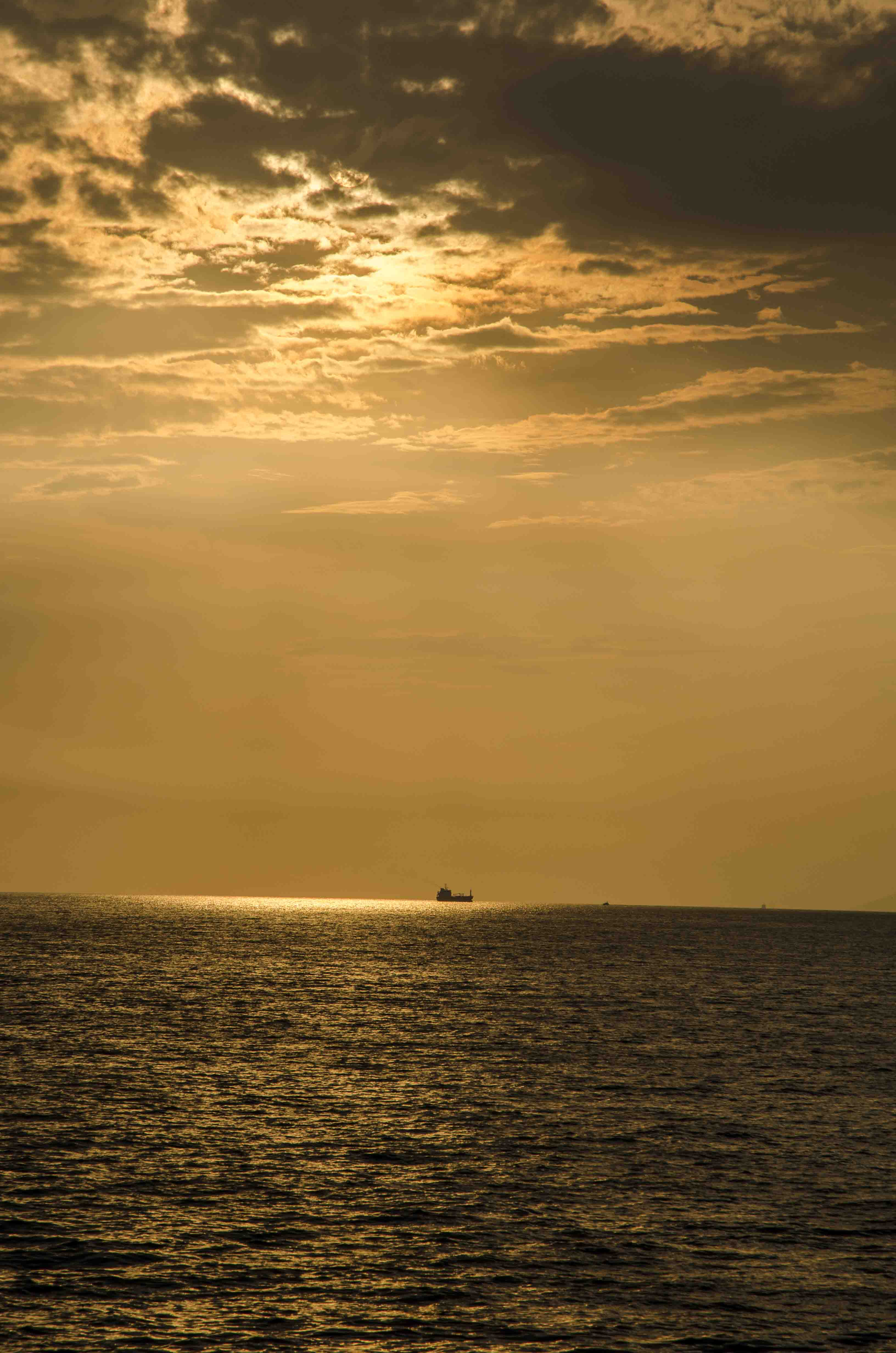 Arrival from Bursa - Marmara sea