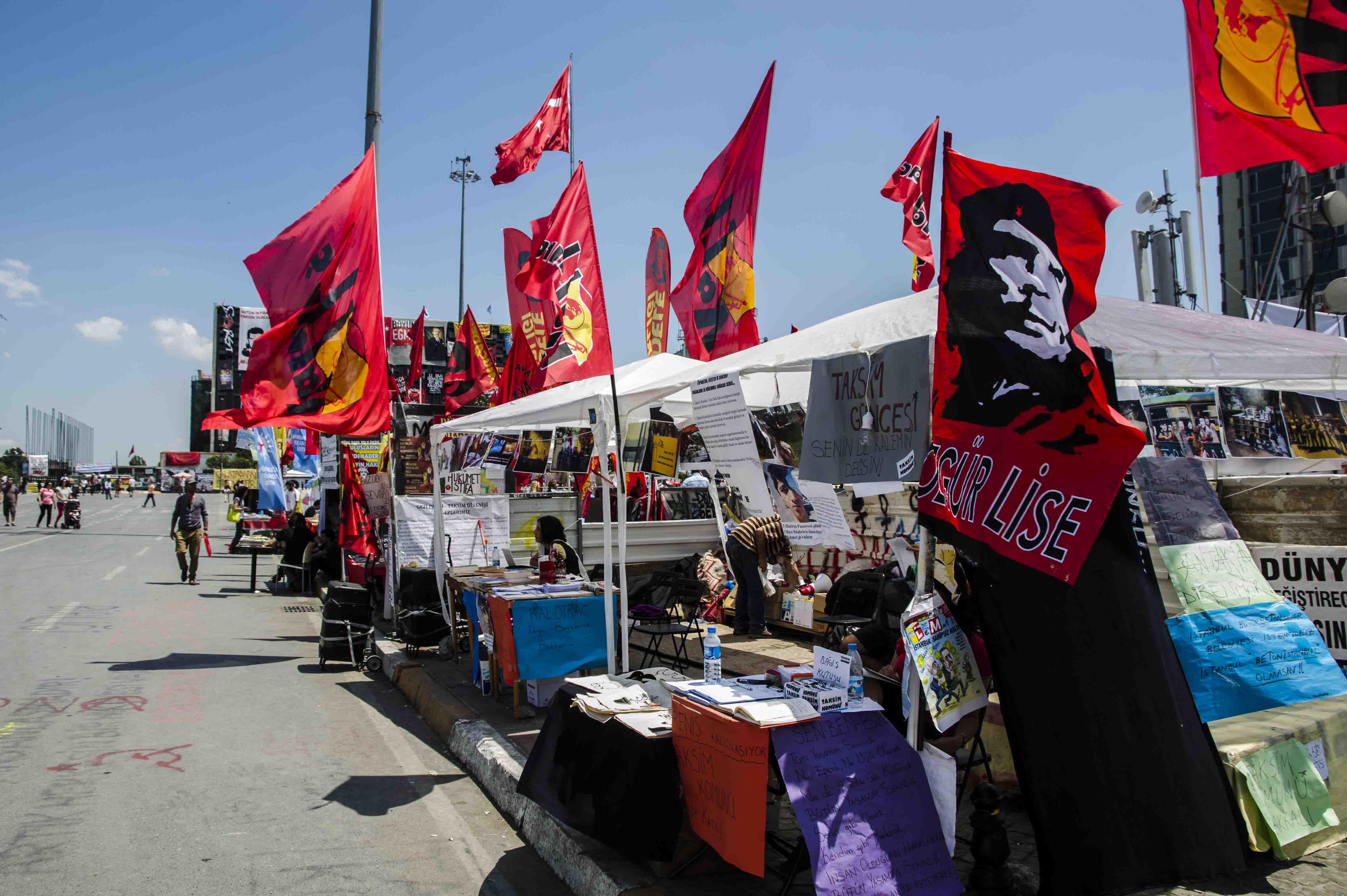 Taksim - protest time