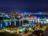 Istanbul by night, from Suleymaniye