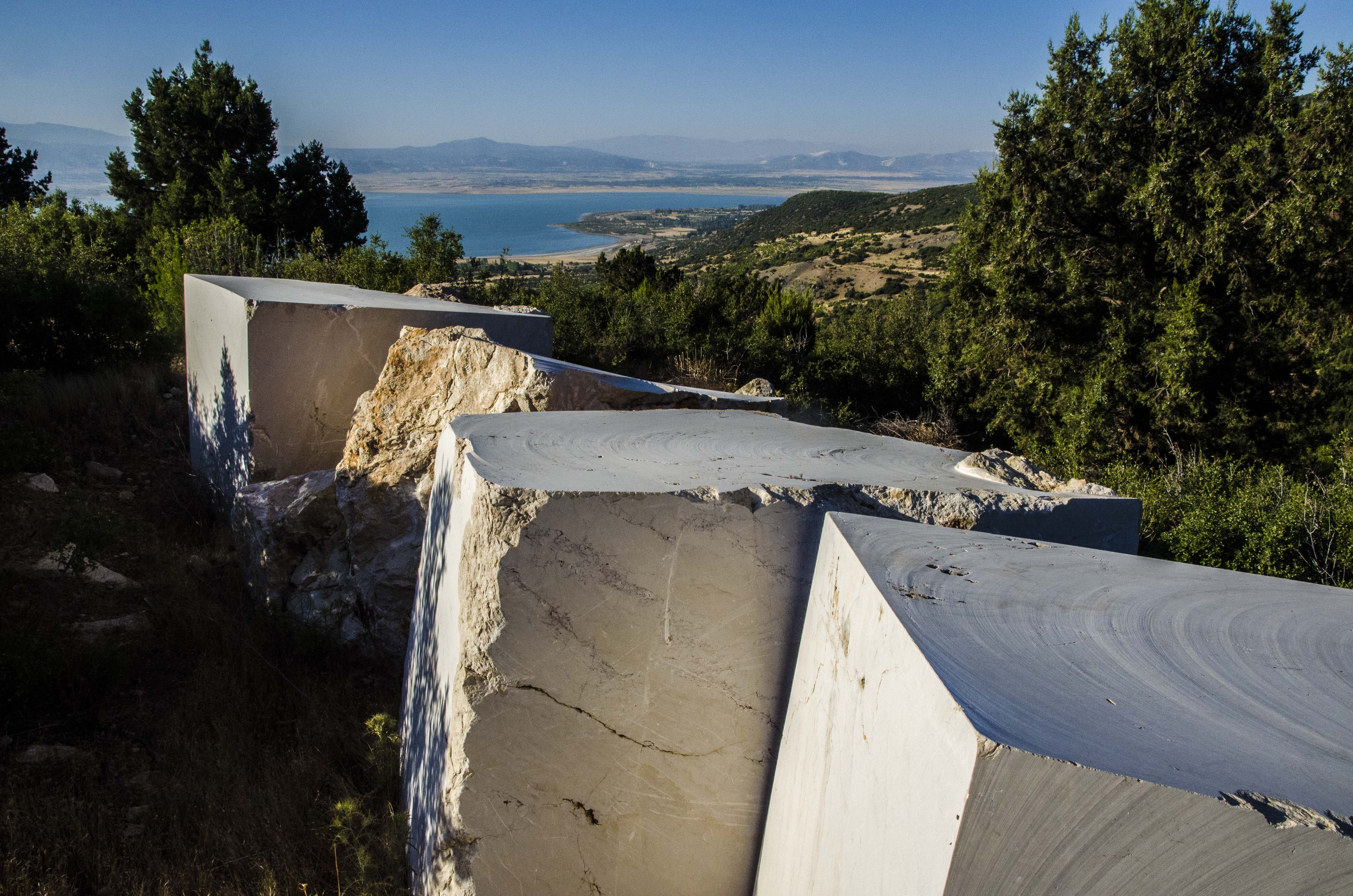 Old marble quarry