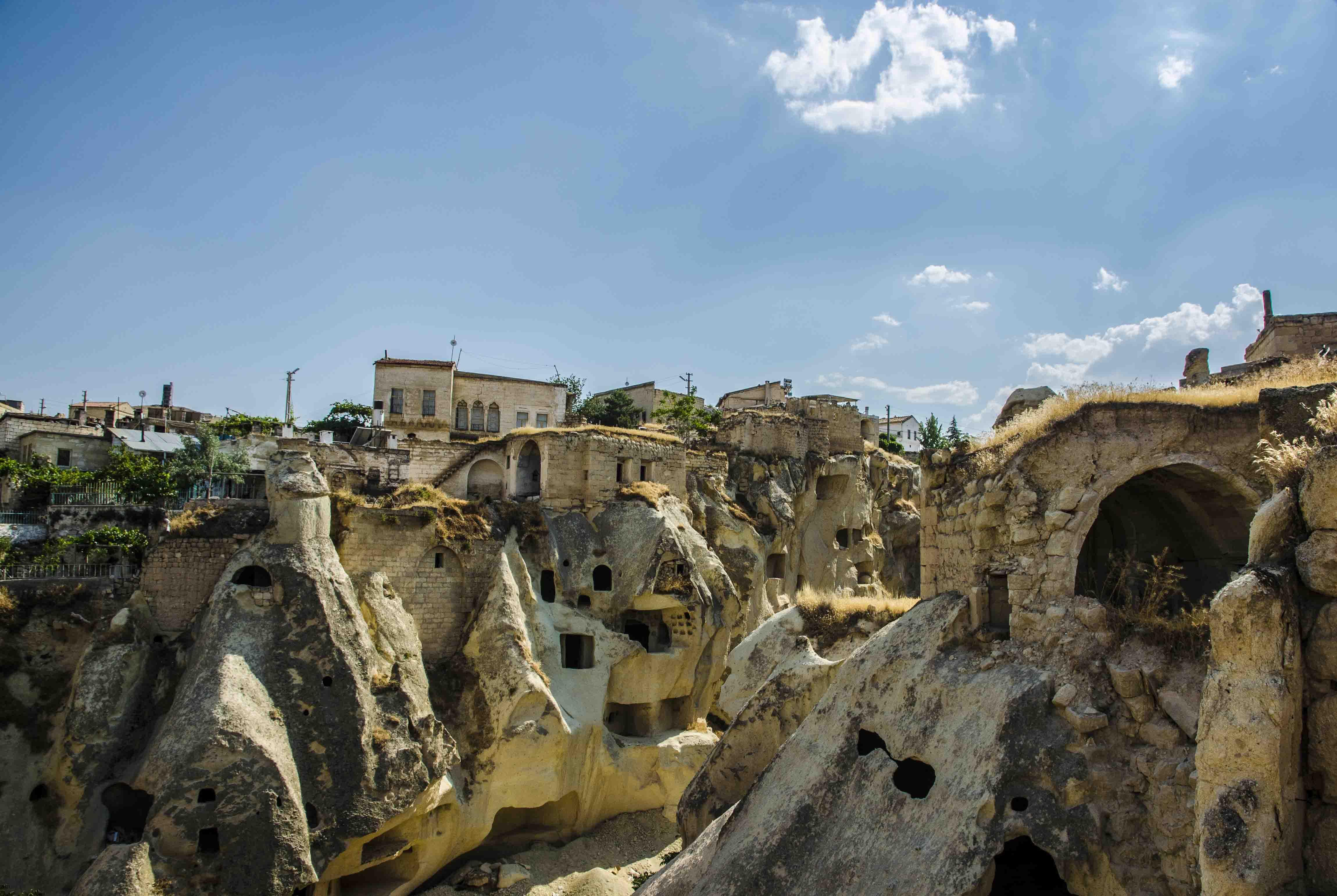Mustaphapasha - greek city till population exchange in the 20's